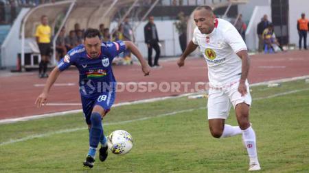 Barito Putera kembali akan melanjutkan kompetisi Shopee Liga 1 2019 dengan menjamu PSIS Semarang di Stadion Demang Lehman, Selasa (22/10/19). - INDOSPORT
