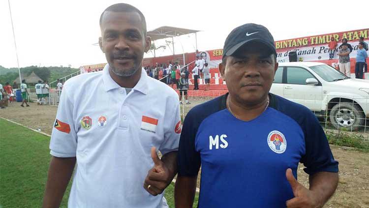 Eks pemain Timnas Indonesia Miro Baldo Bento yang pindah warga negara ke Timor Leste Copyright: Eyesoccer