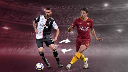 Juventus dan Roma resmikan pertukaran Leonardo Spinazzola dan Luca Pellegrini - INDOSPORT