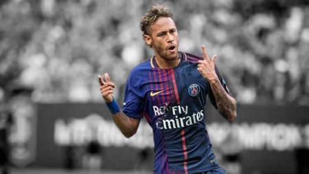 Fans Barcelona mengumandangkan nama Neymar usai Blaugrana kalah dari Athletic Bilbao pada laga pembuka LaLiga Spanyol melawan Bilbao, Sabtu (17/08/19). - INDOSPORT