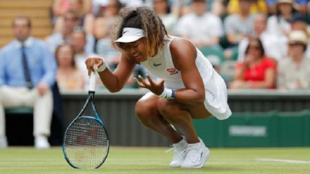 Naomi Osaka tersingkir di babak pertama Wimbledon 2019 - INDOSPORT
