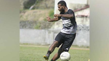 Striker Persipura Jayapura, Marinus Wanewar. Foto: Media Officer Persipura - INDOSPORT