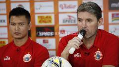 Indosport - Pelatih Persija Jakarta, Julio Banuelos.