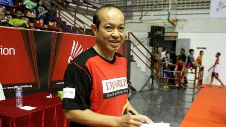 Hastomo Arbi legenda Indonesia sekaligus pelatih PB Djarum - INDOSPORT