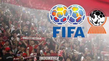 Berdasarkan rilisan FIFA per Juli 2019, Indonesia bertahan di peringkat ke-160. - INDOSPORT