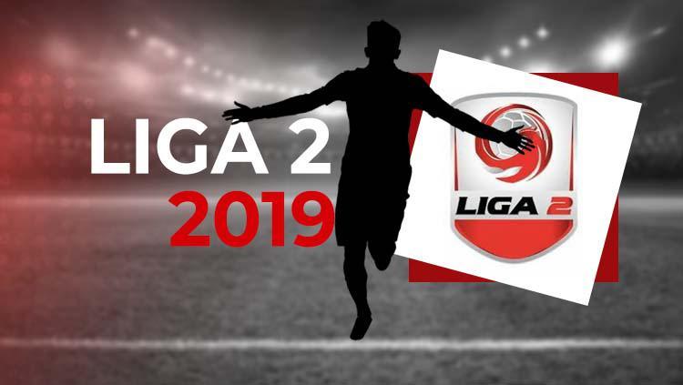 Logo Liga 2 2019 Copyright: Grafis: Eli Suhaeli/INDOSPORT