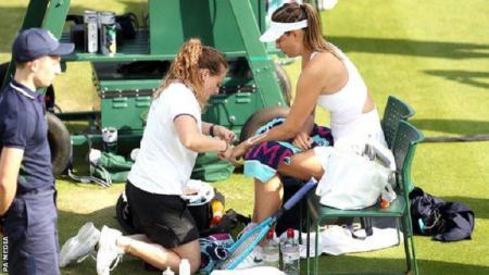 Maria Shapova mundur dari Wimbledon 2019 karena cedera - INDOSPORT