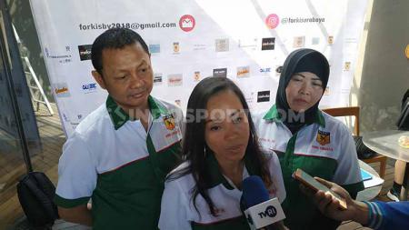 Ketua Forki Surabaya Ozzie. Foto: Fitra Herdian/INDOSPORT - INDOSPORT
