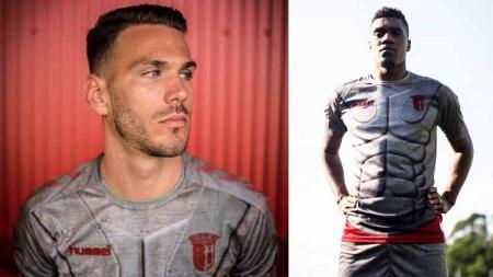 Klub asal Portugal, Sporting Braga, meluncurkan jersey ketiganya untuk musim 201920 dengan konsep baju perang tokoh fiksi - INDOSPORT