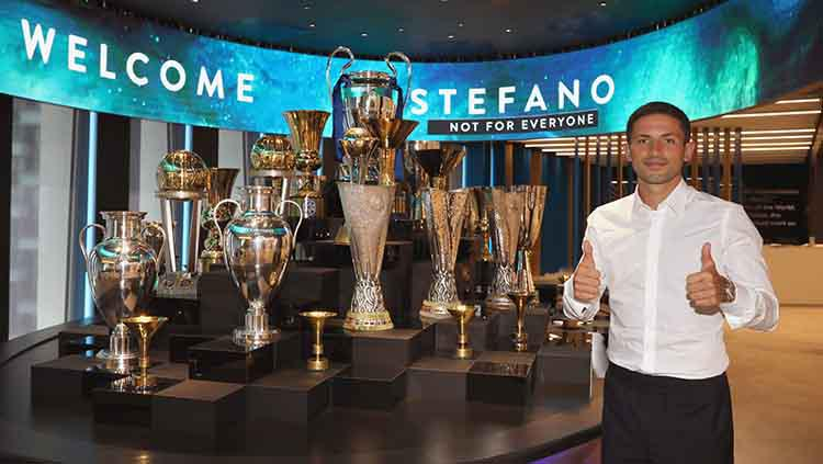 Stefano Sensi resmi dipinjamkan Sassuolo ke Inter Milan Copyright: Vincenzo Lombardo - Inter/Inter via Getty Images