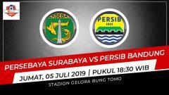 Indosport - Prediksi Persebaya Surabaya vs Persib Bandung.