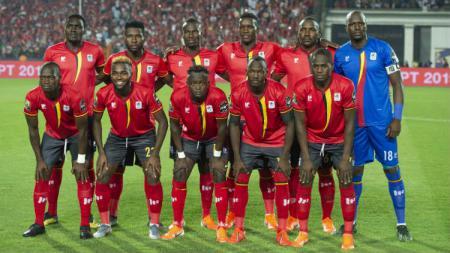 Timnas Uganda di Piala Dunia Afrika 2019. - INDOSPORT