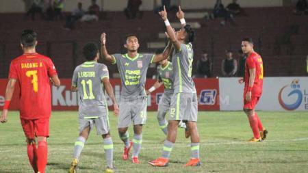 Borneo FC bertekad menaklukkan pemuncak klasemen sementara Shopee Liga 1 2019, Bali United, dalam laga pekan ke-23 Shopee Liga 1 2019, Jumat (18/10/19). - INDOSPORT