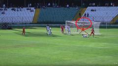 Indosport - Egy Maulana Vikri hampir mencetak gol ke gawang Olympiakos.