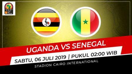 Pertandingan Uganda vs Senegal, Grafis: Indosport.com - INDOSPORT