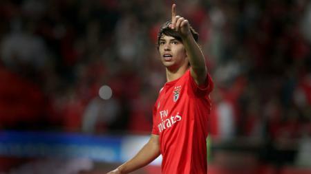 Striker anyar Atletico Madrid Joao Felix. - INDOSPORT