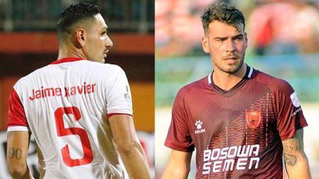 Perbandingan Jaimerson Xavier vs Wiljan Pluim. Foto: Bola/Bola Nusantara - INDOSPORT