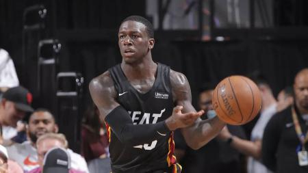 Kendrick Nunn, pemain Miami Heat di NBA Summer League 2019 - INDOSPORT