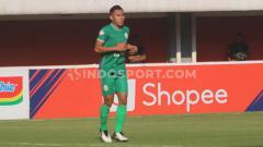 Indosport - Bek muda PSS Sleman, Asyraq Gufran.