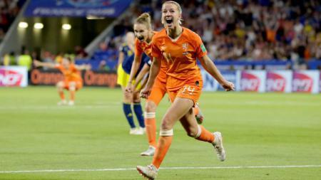 Pemain Timnas Wanita Belanda Jackie Groenen. - INDOSPORT