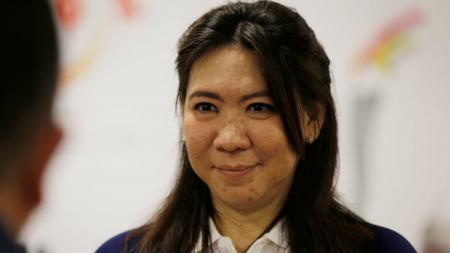 Manajer tim Indonesia, Susy Susanti buka suara usai tim putri Tanah Air berhasil membantai Filipina di penyisihan grup Y Badminton Asia Team Championships 2020 - INDOSPORT