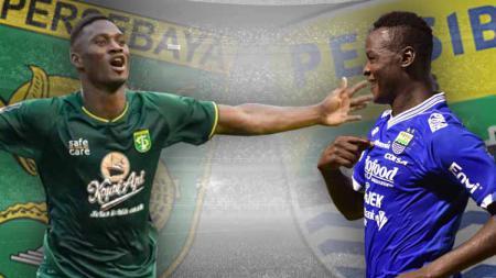 Persebaya Surabaya vs Persib Bandung. - INDOSPORT