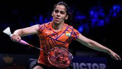 Indosport - Pebulutangkis India, Saina Nehwal, berpotensi ditangani pelatih Indonesia menjelang Olimpiade Tokyo 2020. Shi Tang/Getty Images