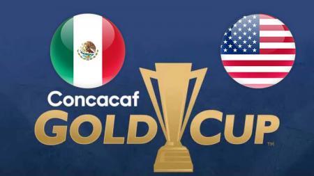 Gold Cup Meksiko vs Amerika Serikat. - INDOSPORT
