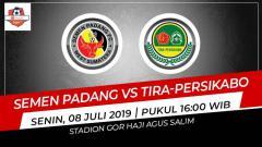 Indosport - Jadwal pertandingan Semen Padang versus Tira-Persikabo.