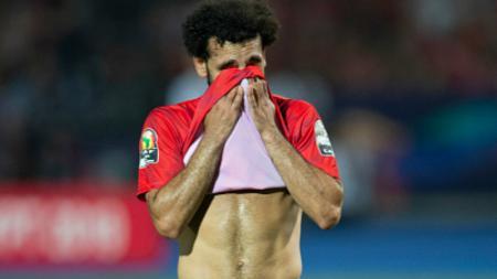 Pemain Timnas Mesir dan Liverpool, Mohamed Salah, angkat suara terkait kasus pelecehan seksual yang melibatkan rekan setimnya bernama Amr Warda. - INDOSPORT