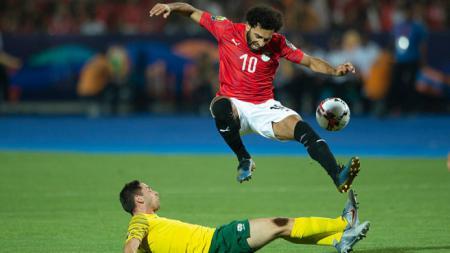 Setelah berlaga di Piala Afrika 2019, Mohamed Salah tetap berlatih selama momen pramusim. Visionhaus/GettyImages - INDOSPORT