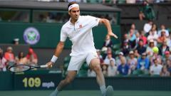 Indosport - Roger Federer melaju ke putaran keempat Wimbledon 2019
