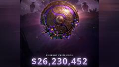 Indosport - Prize pool turnamen Dota 2 The International 2019 sudah mencapai angkat 26 juta USD.