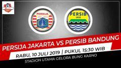Indosport - Prediksi Persija Jakarta vs Persib Bandung