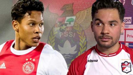 Sedikitnya ada 4 pemain berdarah Indonesia yang mungkin bisa digaet Persik Kediri pasca resmi naik kasta ke Liga 1 2020. [Ilustrasi Darren Sidoel (kiri) dan Keziah Veendorp (kanan)] - INDOSPORT