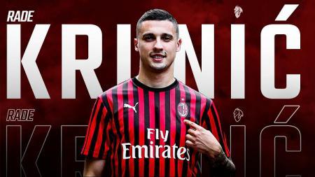 Rade Krunic, rekrutan anyar AC Milan dapat