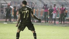 Indosport - Selebrasi winger Tira-Persikabo, Ciro Alves, dalam pertandingan Liga 1 2019. Foto: Instagram/@cirooficial