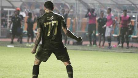 Selebrasi winger Tira-Persikabo, Ciro Alves, dalam pertandingan Liga 1 2019. Foto: Instagram/@cirooficial - INDOSPORT
