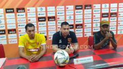 Indosport - Striker Perseru Badak Lampung, Johan Yoga Utama.