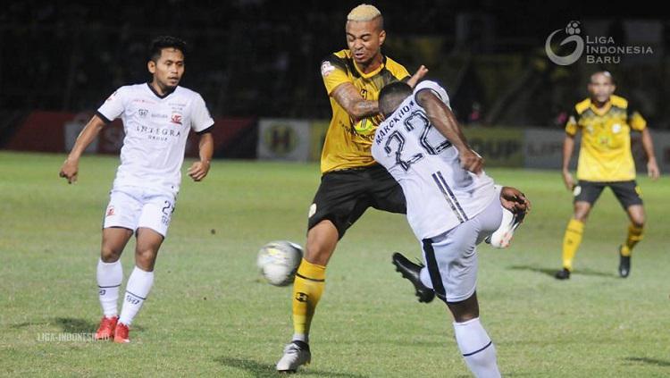 Rafael Da Silva, bersinar di saat Barito Putera terpuruk di papan bawah klasemen Liga 1 2019. Copyright: Liga Indonesia