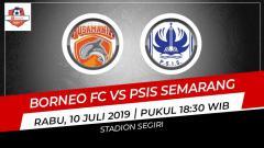 Indosport - Prediksi Borneo FC vs PSIS Semarang