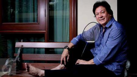 Legenda bulu tangkis Indonesia, Liem Swie King. Foto: liputan6 - INDOSPORT