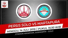 Indosport - Pertandingan Persis Solo vs Martapura.
