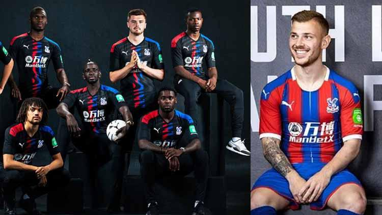 Jersey Home & Away Crystal Palace 2019/20 Copyright: fourfourtwo