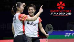 Indosport - Greysia Polii dan Apriyani Rahayu, Daihatsu Yonex Japan Open 2019. Foto: badmintonindonesia.org