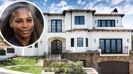 Serena Williams menjual rumah mewahnya di Los Angeles dengan nilai miliaran rupiah. - INDOSPORT