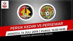 Indosport - Prediksi Persik Kediri vs Persewar Waropen.