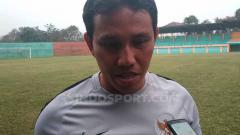 Indosport - Pelatih Timnas Indonesia U-16, Bima Sakti memberikan pernyataan selepas uji coba dengan tim lokal Bogor.