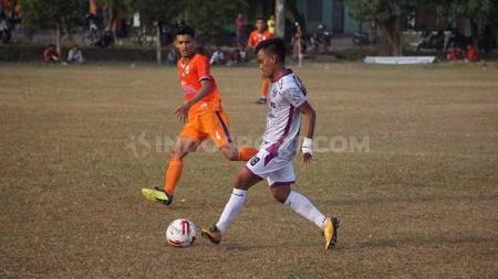 Duel UAD FC menjamu Sleman United di Lapangan Gamelan, Berbah, Sleman, di Liga 3 2019. - INDOSPORT