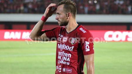 Penyerang Bali United, Ilija Spasojevic. - INDOSPORT